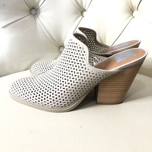 DV Dolce Vita Perforated Slip On Wedge